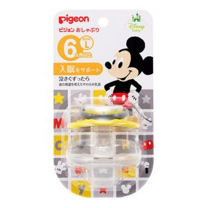 PIGEON MICKEY PACIFIER 6 MONTH+