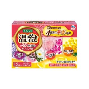 EARTH CARBONATED BATH TABLET PINK